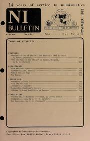 Numismatics International Bulletin, Vol. 12, No.11
