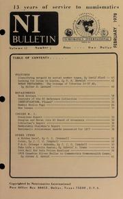 Numismatics International Bulletin, Vol. 12, No.2