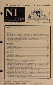 Numismatics International Bulletin, Vol. 12, No.5