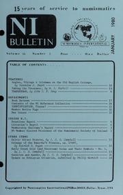 Numismatics International Bulletin, Vol. 14, No.1