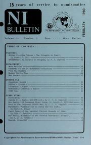 Numismatics International Bulletin, Vol. 14, No.2