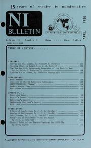 Numismatics International Bulletin, Vol. 14, No.4