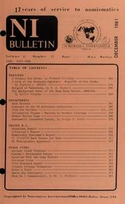 Numismatics International Bulletin, Vol. 15, No.12