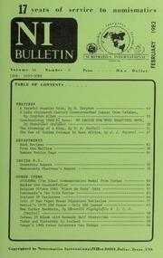 Numismatics International Bulletin, Vol. 16, No.2