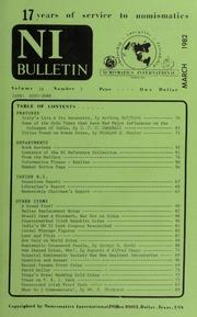 Numismatics International Bulletin, Vol. 16, No.3