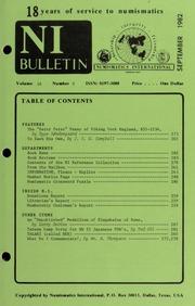 Numismatics International Bulletin, Vol. 16, No.9