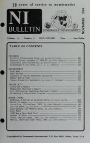 Numismatics International Bulletin, Vol. 18, No.11