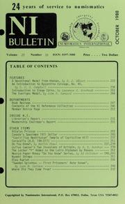 Numismatics International Bulletin, Vol. 22, No.10