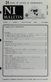Numismatics International Bulletin, Vol. 23, No.5