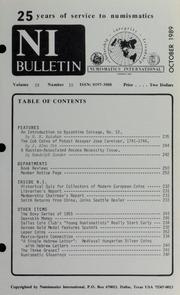 Numismatics International Bulletin, Vol. 24, No.10