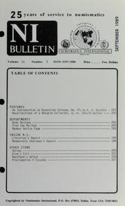 Numismatics International Bulletin, Vol. 24, No.9