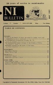 Numismatics International Bulletin, Vol. 26, No.5