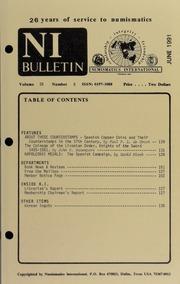 Numismatics International Bulletin, Vol. 26, No.6
