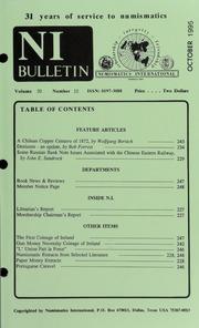 Numismatics International Bulletin, Vol. 30, No.10