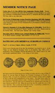 Numismatics International Bulletin, Vol. 34, No.7