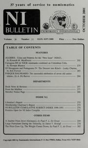 Numismatics International Bulletin, Vol. 36, No.10