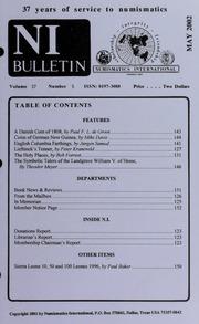 Numismatics International Bulletin, Vol. 37, No.5