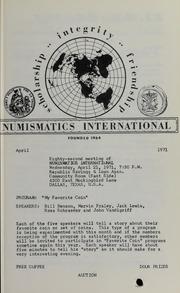 Numismatics International Bulletin, Vol. 5, No.4