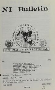 Numismatics International Bulletin, Vol. 5, No.5