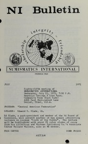 Numismatics International Bulletin, Vol. 5, No.7