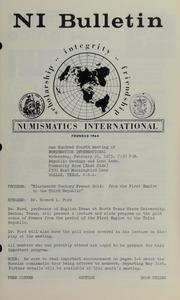 Numismatics International Bulletin, Vol. 7, No.2