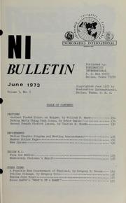 Numismatics International Bulletin, Vol. 7, No.6