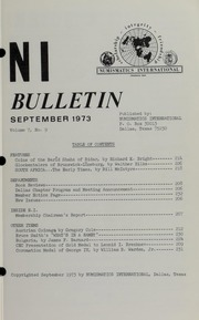 Numismatics International Bulletin, Vol. 7, No.9