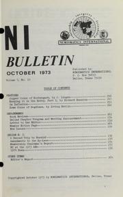 Numismatics International Bulletin, Vol. 7, No.10