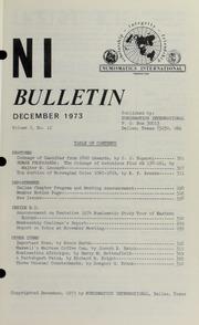 Numismatics International Bulletin, Vol. 7, No.12