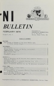 Numismatics International Bulletin, Vol. 8, No.2