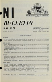 Numismatics International Bulletin, Vol. 8, No.5