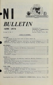 Numismatics International Bulletin, Vol. 8, No.6