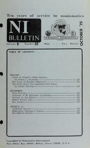 Numismatics International Bulletin, Vol. 9, No.10