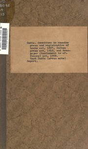 indian press act 1910