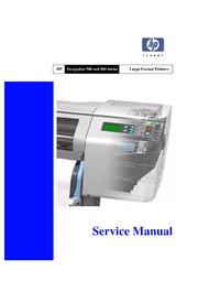 hp deskjet 500 800 service manual free download borrow and rh archive org HP Wide Format HP Designjet L26500