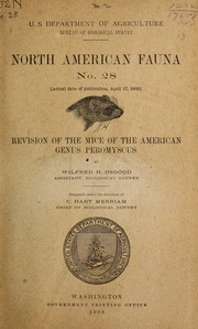 Revision of the mice of the American genus <i>Peromyscus</i>