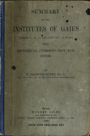 Gaius institutiones online dating