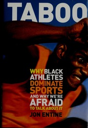 taboo why black athletes dominate sports and