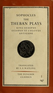 The Three Theban Plays Sophocles Free Download Borrow And