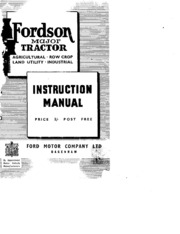 23656994 fordson major tractor manual free download borrow and