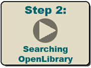 Step 2: Searching OpenLibrary