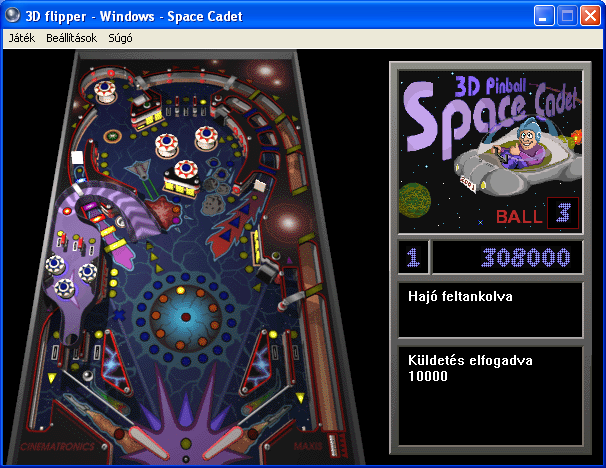 pinball space cadet