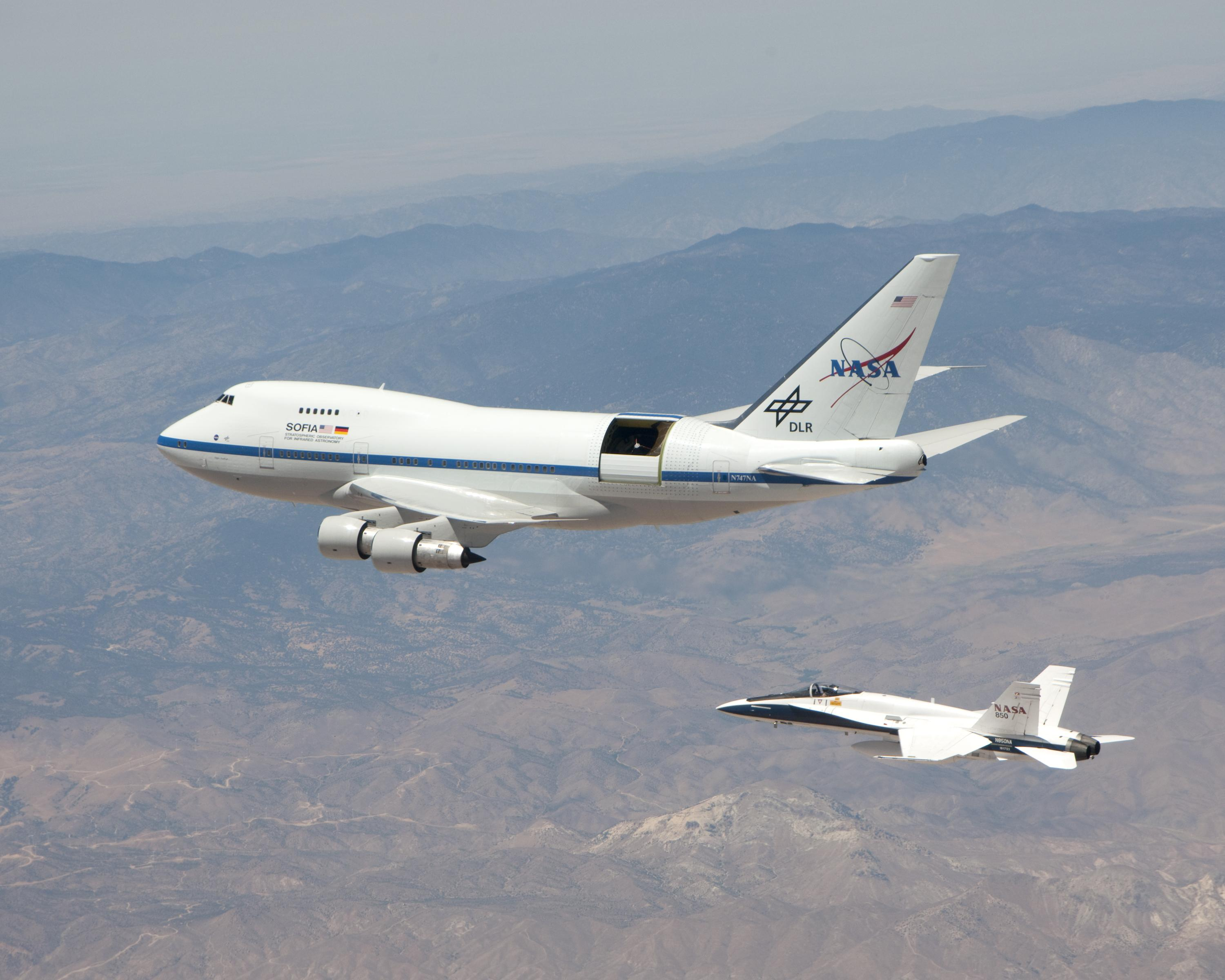 NASA's Stratospheric Observatory for Infrared Astronomy ...