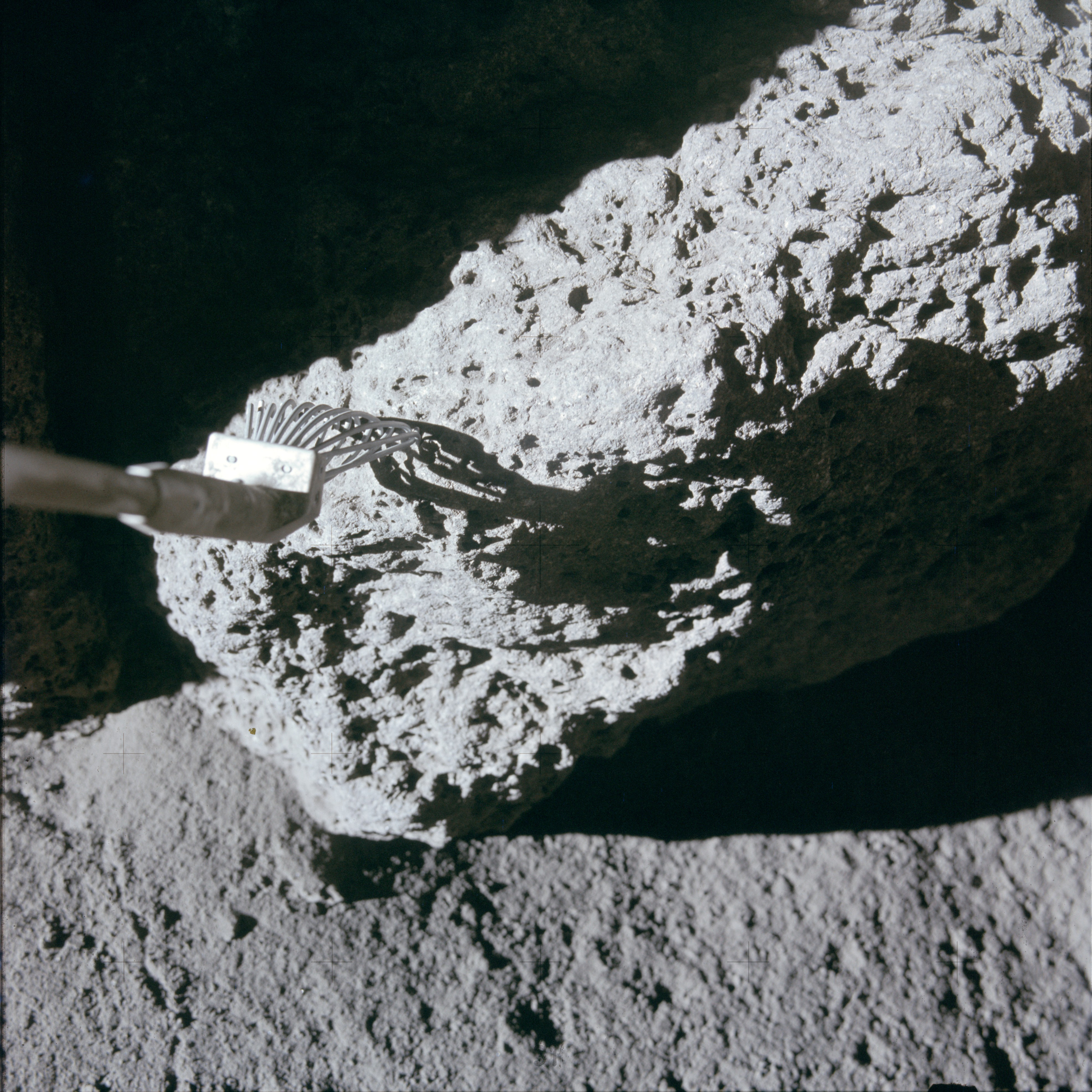 Apollo 15 Mission Image Stereo Pair View Of Station 4 And Smaller Rock Nasa Free Download Borrow And Streaming Internet Archive