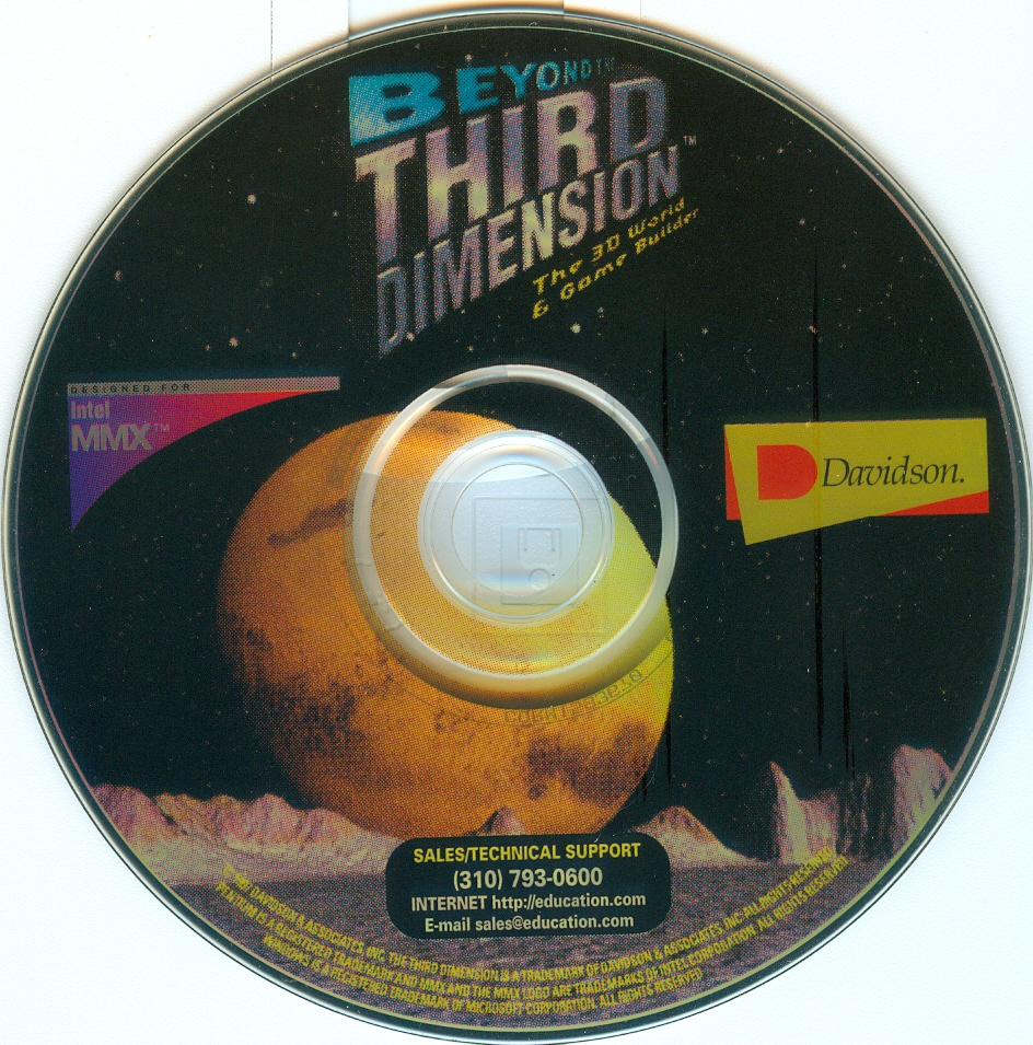 Beyond Third Dimension : Davidson : Free Download, Borrow