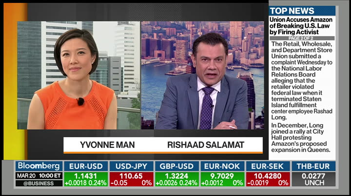 Bloomberg Markets: Asia : BLOOMBERG : March 20, 2019 10:00pm