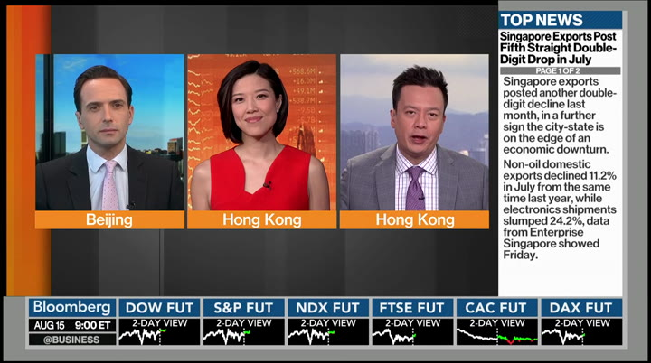 Bloomberg Markets: Asia : BLOOMBERG : August 15, 2019 9 ...