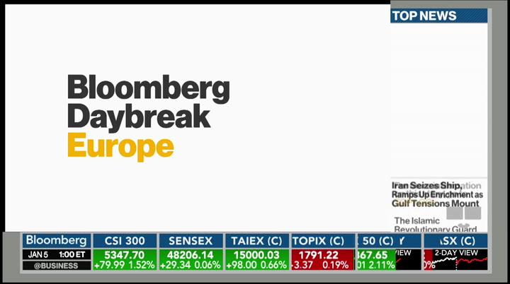Bloomberg Daybreak Europe Bloomberg January 5 2021 1 00am 2 00am Est Free Borrow Streaming Internet Archive