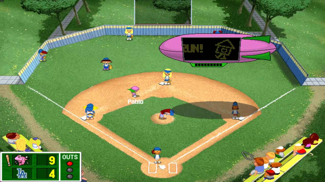 backyard baseball 2001 demo humongous entertainment