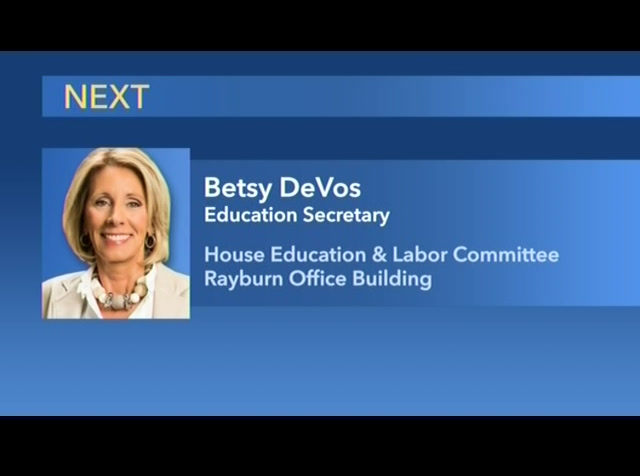 Special Education Chiefs To Devos Dont >> Education Secretary Betsy Devos Testifies Before House